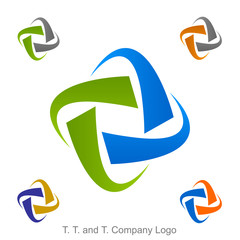 T. T. and T. Company Logo