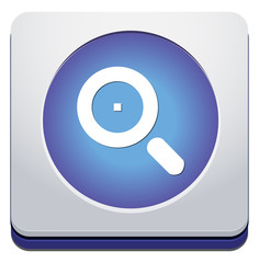 Vector Glass Magnifier Icon