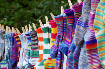wollsocken