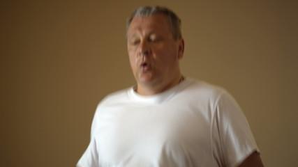 Training on treadmill
