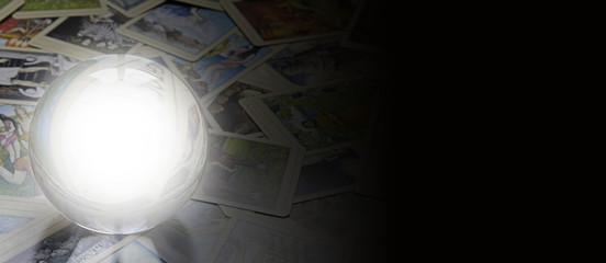 Tarot Reader's website banner