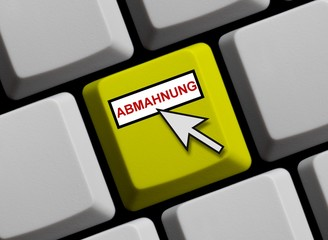 Abmahnung online