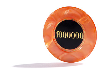 One million casino chip