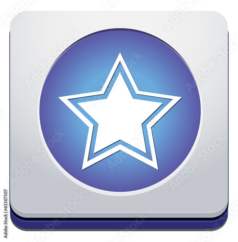 Star favorite web icon