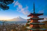 Mt. Fuji viewed from Chureito Pagoda