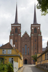 The Towers of the Cathedral of Roskilde