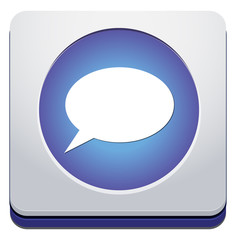 chatting icon / button