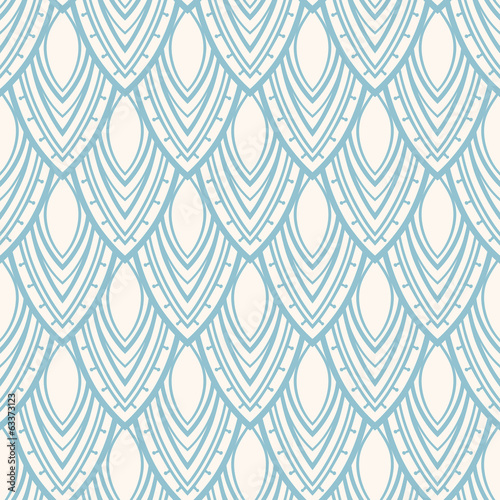 blue foliage pattern - 2