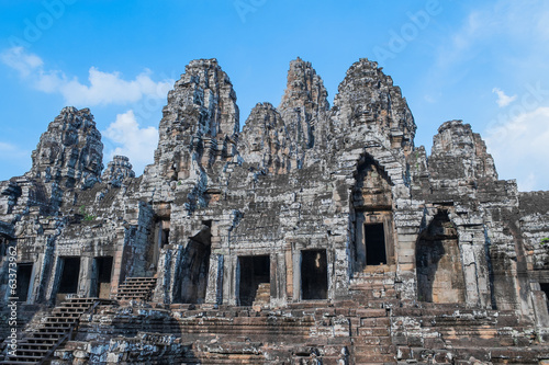 Ancient Bayon Temple
