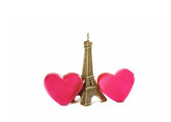 Romantisches Wochenende in Paris