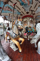 horses carousel