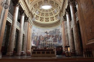 Santa Croce Cathedral in Forli, Italy