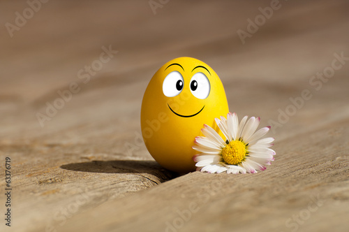 Funny egg for Happy Easter