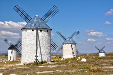 Molinos de viento, Campo de Criptana, Castilla-La Mancha