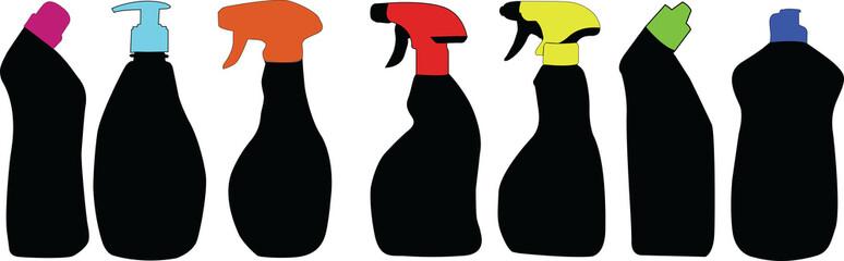 Detergent silhouettes