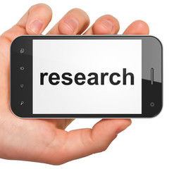 Marketing concept: Research on smartphone