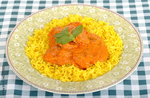 Chicken Tikka Masala with Pilau Rice