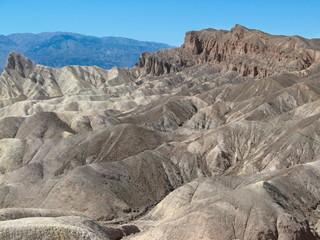 Etats-Unis - Vallée de la Mort - Zabriskie point