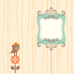 Ornate Banner Bird