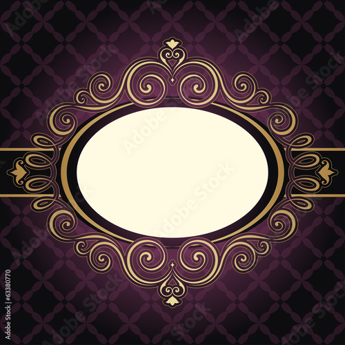 Frame Vintage Purple