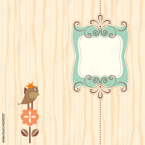 Ornate Banner Bird