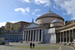 Постер, плакат: Church of San Francesco di Paola Piazza del Plebiscito Naples