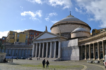 Church of San Francesco di Paola, Piazza del Plebiscito, Naples