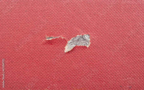 A red, vintage paper background