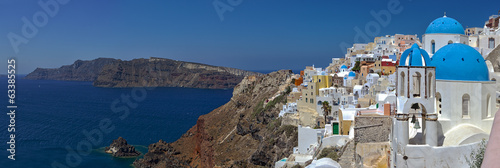 Santorini, panoramic view