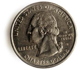 Quarter United States coin Vierteldollar Vereinigte Staaten