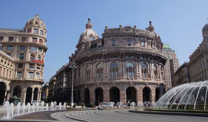 Place Piazza De Ferrari à Gênes