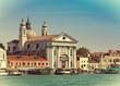 Grand Canal and Basilica Santa Maria della Salute,Venice