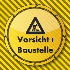 construction Vorsicht Baustelle symbol