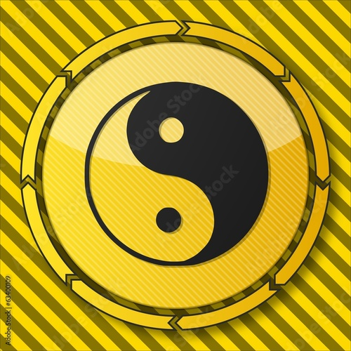 construction ying yang symbol