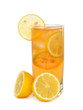 Iced tea with lemon
