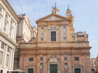 Chiesa del Gesu in Genoa