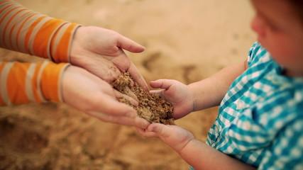 Sand transfer