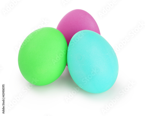 acid colors easter eggs