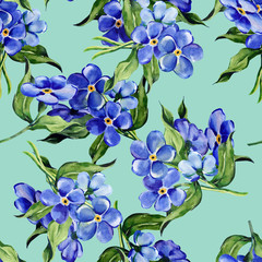 Forget-me-not Flowers Pattern