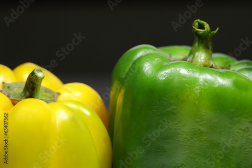 Two bell pepper