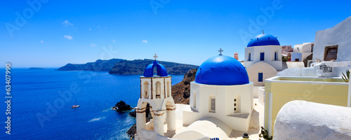 Deurstickers Bedehuis Oia Santorini Greece Europe