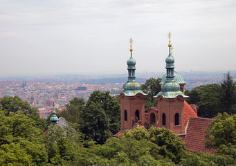 Saint Nicholas church in Prague