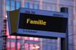Anzeigetafel 1 - Familie