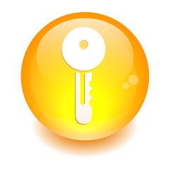 button key orange