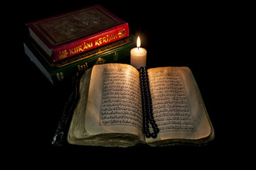 Quran And Candle
