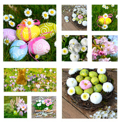 Collage - Ostern