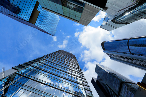 Modern building from low angle
