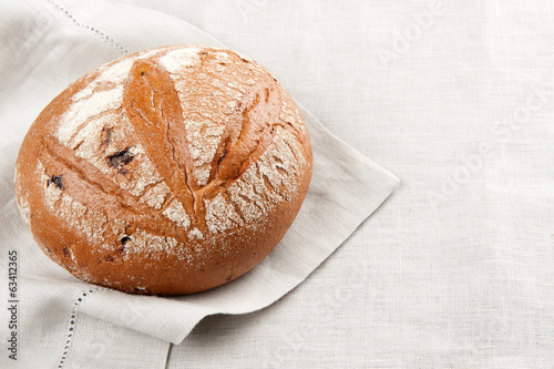traditional bread close up