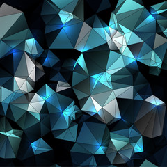dark colors abstract geometric background  stained-glass window