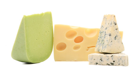 Different cheeses.